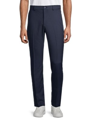 Saks Fifth Avenue Flat-Front Golf Pants