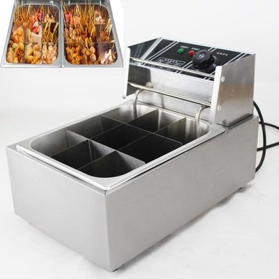 Commercial Hot Snack Food Taiwanese 110V/220V Oden Making Machine Oden Cooking Stove Oden Cooker Kanto Cook