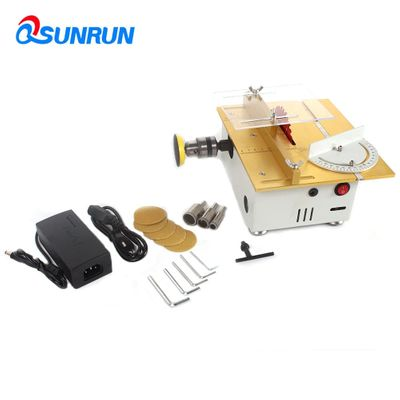 1Set Woodworking table saw PCB sawing multifunctional small cutter DIY sanding tool decoration tool