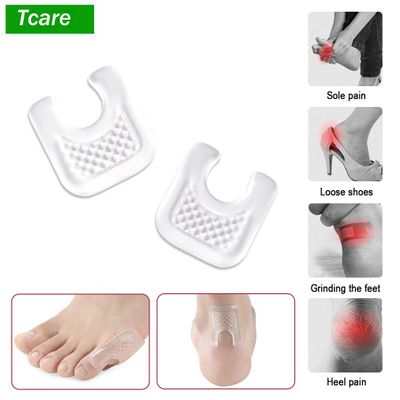 2Pair BYEPAIN Gel Shoes Stickers Soft Silicone Pads Relief Heel Pain Blisters Bunions Corns Calluses Friction Pressure Spots