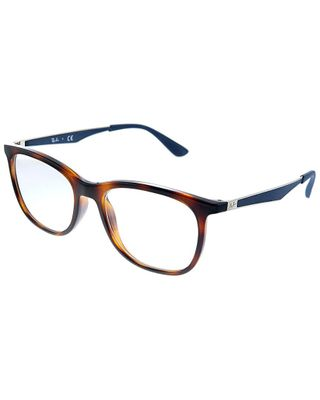 Ray-Ban Unisex Square 53mm Optical Frames