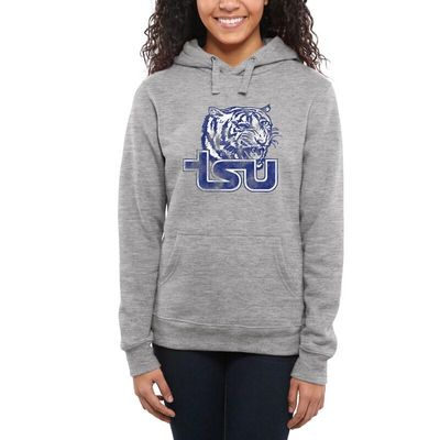 Tennessee State Tigers Women's Classic Primary Pullover Hoodie - Ash -