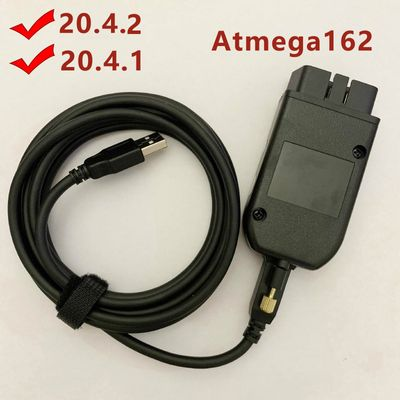 Free Shipping Car Obd 16pin Diagnostic Cable 20.4.2 for Kline and CAN BUS for Vw for Audi for Skoda for Seat Till 2019 ATMEGA162