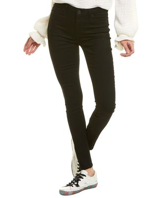 HUDSON Jeans Blair Black Raven High-Rise Super Skinny Ankle Cut Jean
