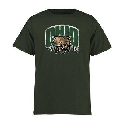 Ohio Bobcats Youth Classic Primary T-Shirt - Green