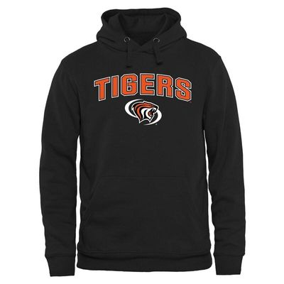 Pacific Tigers Proud Mascot Pullover Hoodie - Black