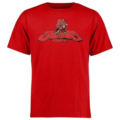 University of Houston-Victoria Jaguars Big & Tall Classic Primary T-Shirt - Red