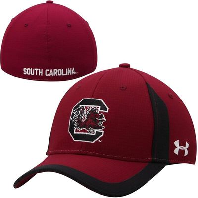 South Carolina Gamecocks Under Armour Sideline Touchback Performance Flex Hat - Red