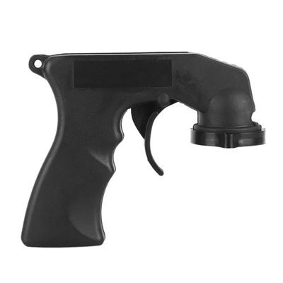 Car Paint Care Aerosol Spray Gun Adapter Handle with Grip Trigger Black