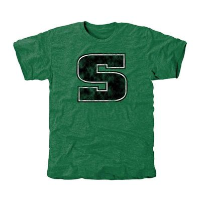 Slippery Rock Pride Classic Primary Tri-Blend T-Shirt - Green