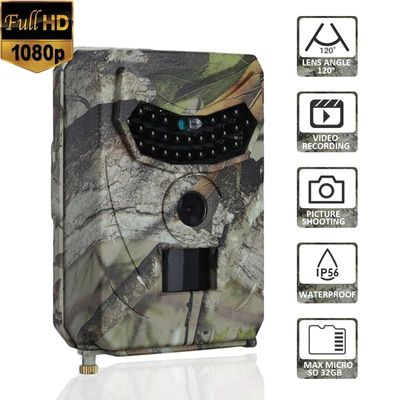 12MP 1080P Hunting Camera 120 Degree PIR 110 Infrared Wild Trail Camera Animal Observation Recorder animal cam Night Vision