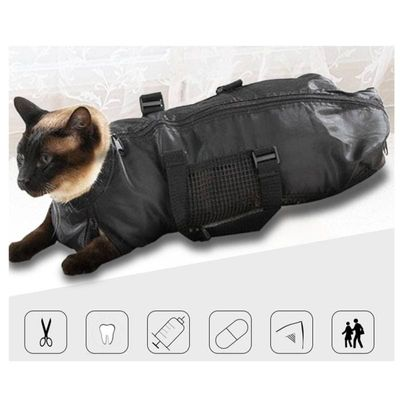 Household Practical Portable Multi-Function Cat Bag Restraint Bag Cat Nail Cut Clean Beauty Bag Pet Supplies Fixed Bag