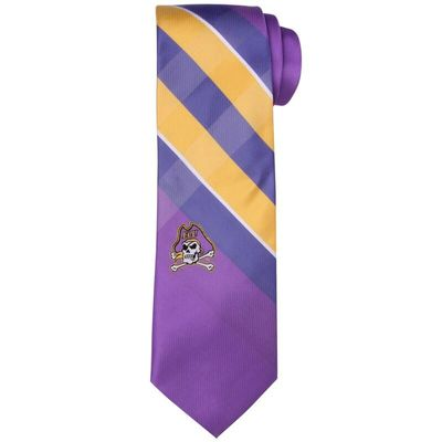 East Carolina Pirates Woven Poly Grid Tie