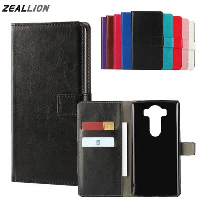 ZEALLION For LG G2 G3 G4 G5 K7 K10 V10 V20 L70 L80 L90 Leon C40 Case Wallet Holster Flip Crazy-Horse Leather Cover