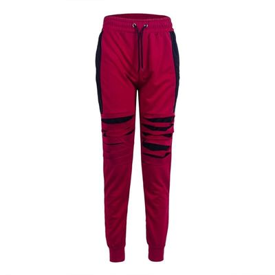 Men Gym Slim Fit Trousers Tracksuit Bottoms Skinny Jogger Sweat Track Long Pants