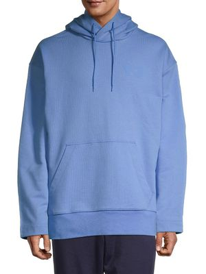 adidas by YOHJI YAMAMOTO Hooded Stretch-Cotton Sweatshirt
