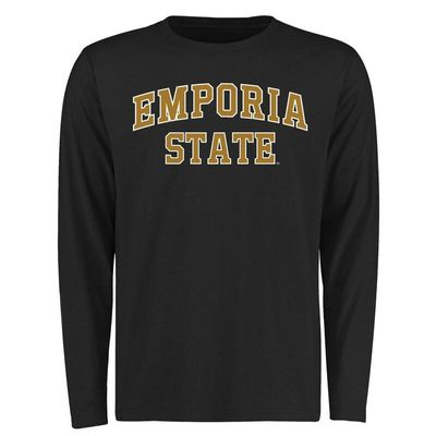 Emporia State Hornets Everyday Long Sleeve T-Shirt - Black