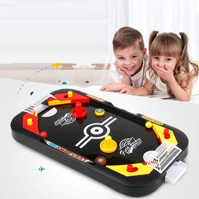 Mini Air Hockey Table Desktop Battle 2 in 1 Ice Hockey Game Leisure Children Educational Interactive Toy Kids Gift Indoor Game