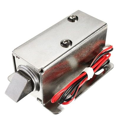 1Pcs Mini 12V DC 1.1A Electric Lock Assembly Solenoid Cabinet Drawer Door Lock for Display Cabinets Drawers File Cabinets
