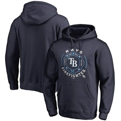 Tampa Bay Rays Firefighter Pullover Hoodie - Navy