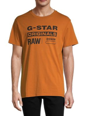G-Star RAW Logo Cotton Tee