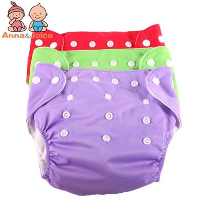 10pcs/lot  Summer Design Adjustable Diapers Baby Diaper Children's Underwear Reusable Nappies Pants Panties for Toilet Training