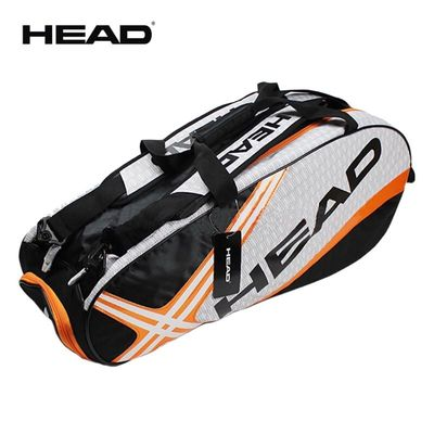 Professional Head Tennis Bag Large Capacity Max For 6 Tennis Rackets Male Sports Backpack Or Single Shoulder Djokovic Same Type