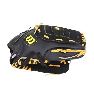 Genuine Leather 13 Inch Baseball Glove Softball Practice Equipment for Left Hand for Adult Man Woman Trainning