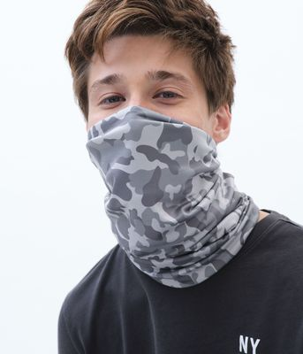 Aeropostale Reversible Camo Multi-Functional Face Covering