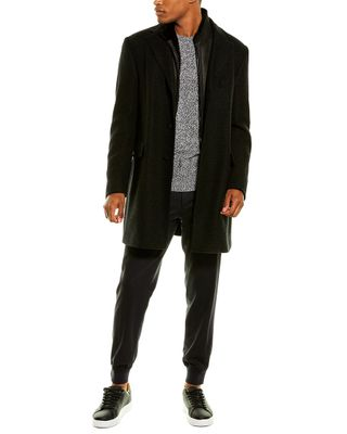 Corneliani Wool-Lined Cashmere Top Coat