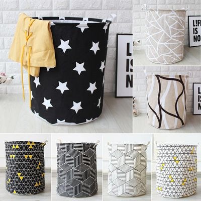 Home Storage Large Capacity Folding Laundry Basket ForToy Storage Dirty Clothes Sundries Pouch Household Organizers