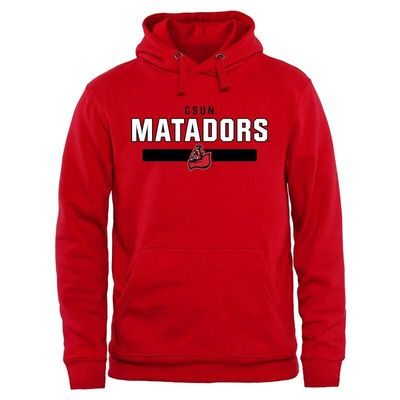 Cal State Northridge Matadors Team Strong Pullover Hoodie - Red