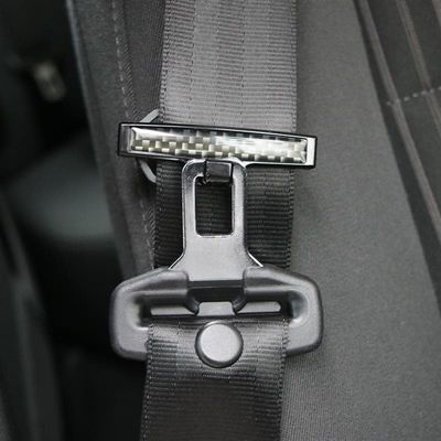 2pcs Car Safety Belt Clips Slip-Resistant Seat Belt Buckle Simple Strong Adjustable Universal Clamp Fixing Clip Car Styling