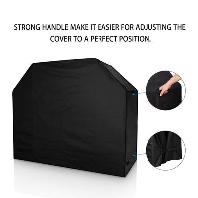 BBQ Grill Barbeque Cover Black Waterproof Outdoor Rain Grill Barbacoa Heavy Duty Anti Dust BBQ Protector For Gas Charcoal Barbe