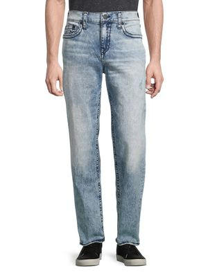 True Religion Faded Straight-Fit Jeans