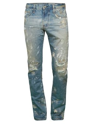 AG Jeans The Tellis Modern Distressed Slim-Fit Jeans