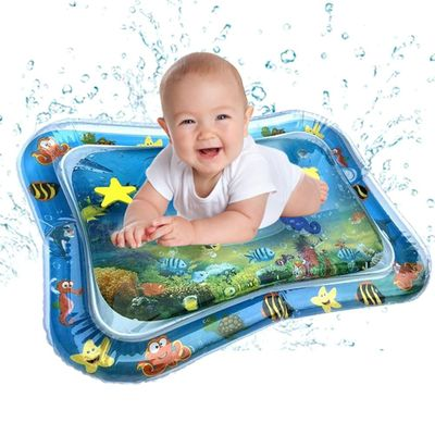 Baby Kids water play mat Inflatable Infant Tummy Time Playmat Toddler Fun Play to promote hand-eye coordination