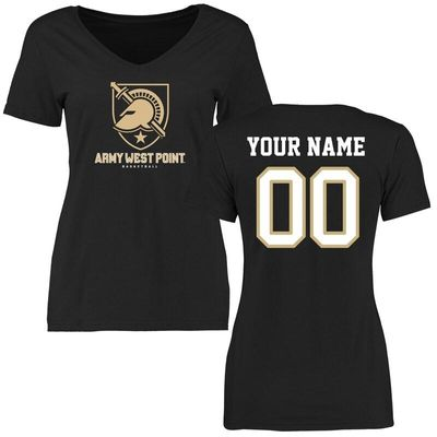 Army Black Knights Women's Personalized Basketball T-Shirt - Black