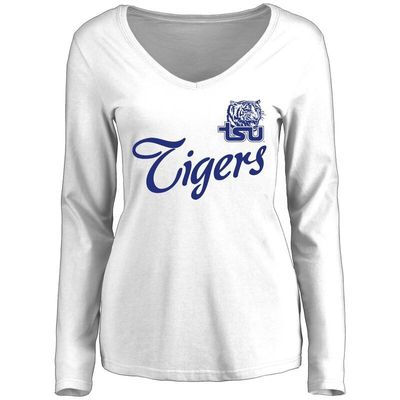 Tennessee State Tigers Women's Dora Long Sleeve T-Shirt - White