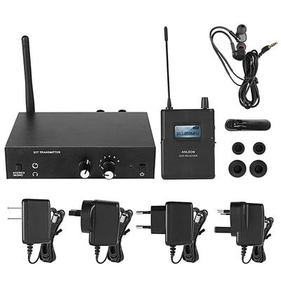 For ANLEON S2 Stereo Wireless In Ear Monitor System Stage Monitoring 561-568Mhz