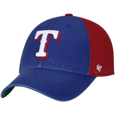 Texas Rangers '47 Flagstaff Clean Up Adjustable Hat - Royal/Red