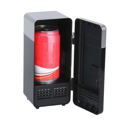 3 Color ABS 194*90*90mm Energy Saving and Eco-Friendly 5V 10W USB Car Portable Mini Drink Cooler Car Boat Travel Cosmetic Fridge