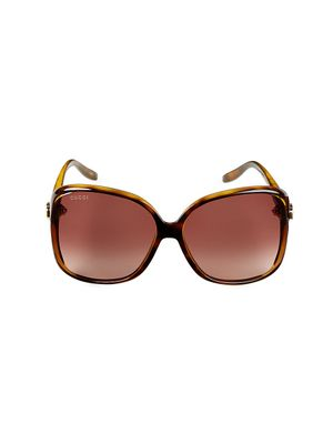 Gucci 60MM Oversized Sunglasses