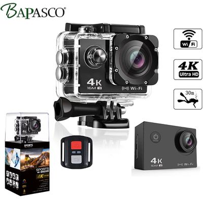 go Sport pro Camera 16MP Real 4K sports camera with built-in WIFI 2 inch LCD screen 170 degree wide-angle lens