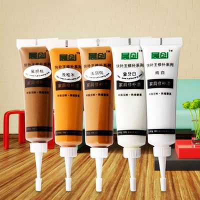 Wood Furniture Touch Up Kit Marker Cream Wax Scratch Filler Remover Repair Fix Furniture Scratch Fast Remover