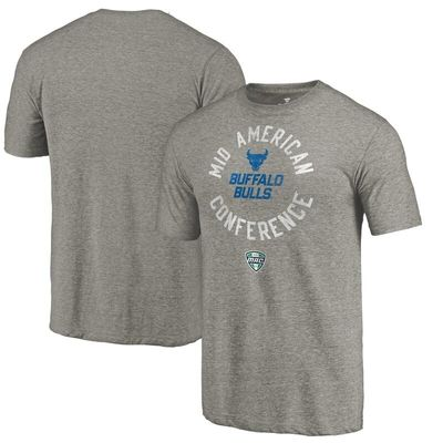 Buffalo Bulls Conference Stamp Tri-Blend T-Shirt - Ash