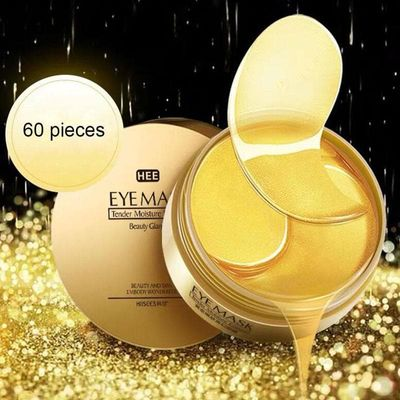 60pcs Gold/Seaweed gold mask Eye mask for the face Anti Wrinkle Gel Sleep patch for eye bioaqua Patches Collagen Moisturizing Ey