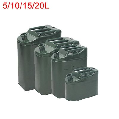 Car Truck Motorcycle Off-road Petrol Cans Spare Oil Storage Leak-proof Fuel Tank Gasoline Bucket Can Oil Drum 5/10/15/20L