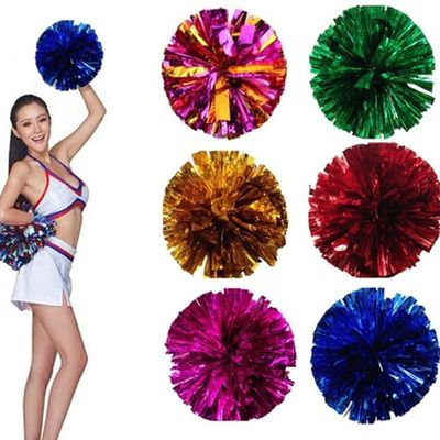 1pc Game Pompoms Cheerleading Flower Ball Cheerleaders Hand Flower Aerobics Dance Props Gymnastics Competition Sport Accessories