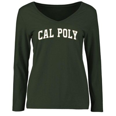 Cal Poly Mustangs Women's Everyday Long Sleeve T-Shirt - Green